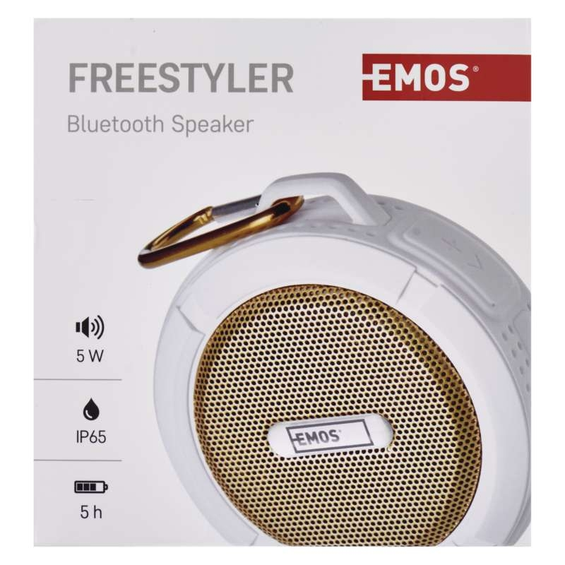 BLUETOOTH KÕLAR SOUNDBOX FREESTYLER GOLD
