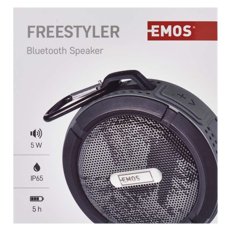BLUETOOTH KÕLAR SOUNDBOX FREESTYLER GREY