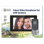 "VIDEO DOOR PHONE 7"" SET GOLD"
