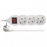 Extension power cord (3) 3 m. with switch