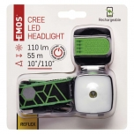 RECHARGABLE 3W CREE LED HEADLIGHT 3 IN 1