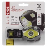 HEADLIGHT 3W LED + COB