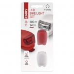 SILIKOON LED JALGRATTA ESI + TAGATULI BIKE LIGHTS SET