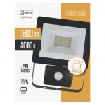 LED PROŽEKTOR SLIM 20W PIR