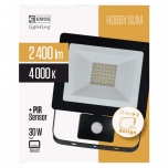 LED PROŽEKTOR SLIM 50W PIR