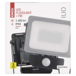 LED FLOODLIGHT ILIO 20W PIR