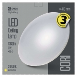 LED CEILI LAMP CORI R 22W/WW