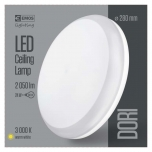 LED DORI ROUND IP54/24W/WW W