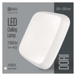 LED DORI SQUARE IP54/24W/NW W
