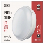 LED WALL LIGHT CIRCLE WHITE IP65 20W NW