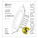LED DOWNLIGHT 24W PROFI PLUS