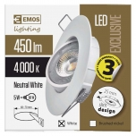 LED SPOTLIGHT 5 W EXCL. NW W
