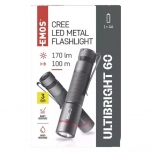 Metallist taskulamp CREE LED Ultibright 60,170lm,1x AAA