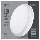 LED DORI ROUND IP54/18W/ WW W