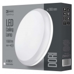 LED DORI ROUND IP54/18W/NW W