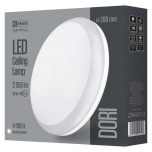 LED DORI ROUND IP54/24W/NW W