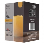 1LED WAX CAND FLICKER VNT 2