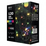 Christmas lights,120 led, 12m,COLOR,IP44