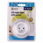 NIGHT LIGHT SOCKET 3 LED 230V