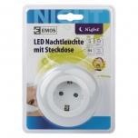 NIGHT LIG.SOC.SCHUKO 3LED 230V