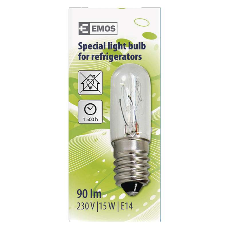 LED PIRN FRIDGE BULB 15W E14 230V