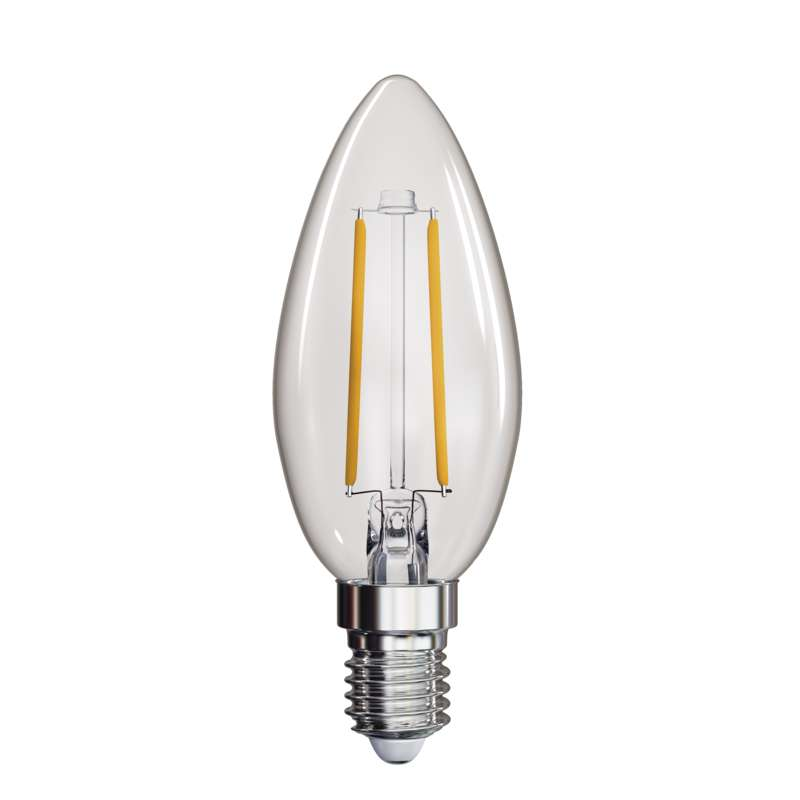 LED PIRN FLM CANDLE A++ 2W E14 NW