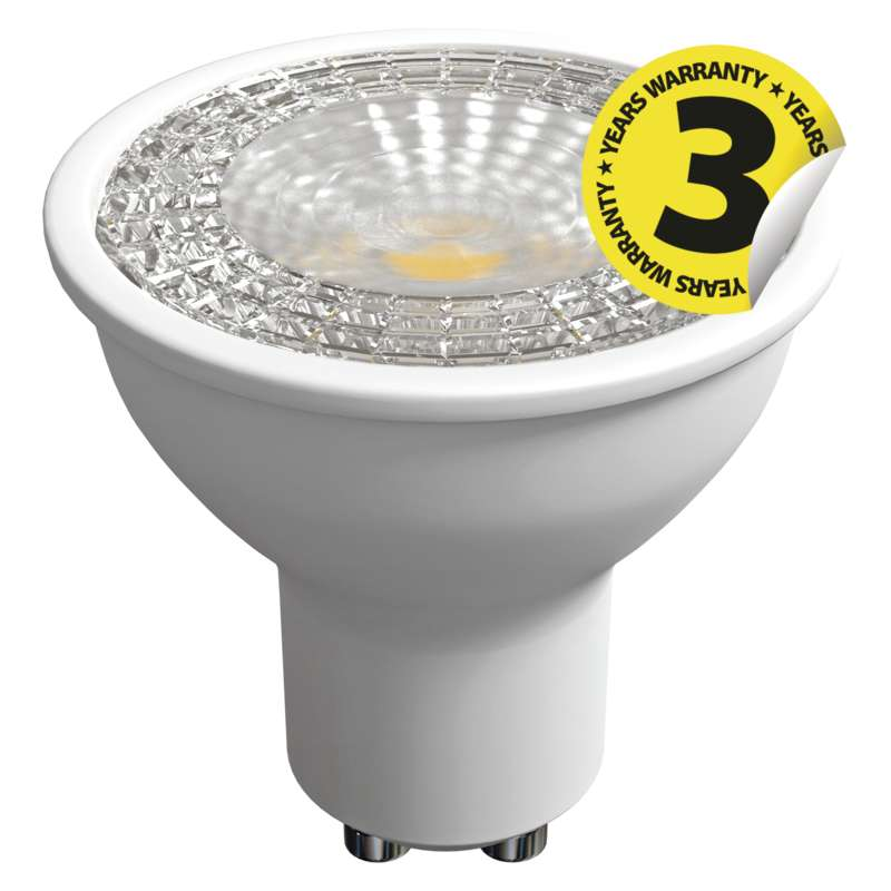 LED PIRN MR16 36° 6.3W GU10 WW