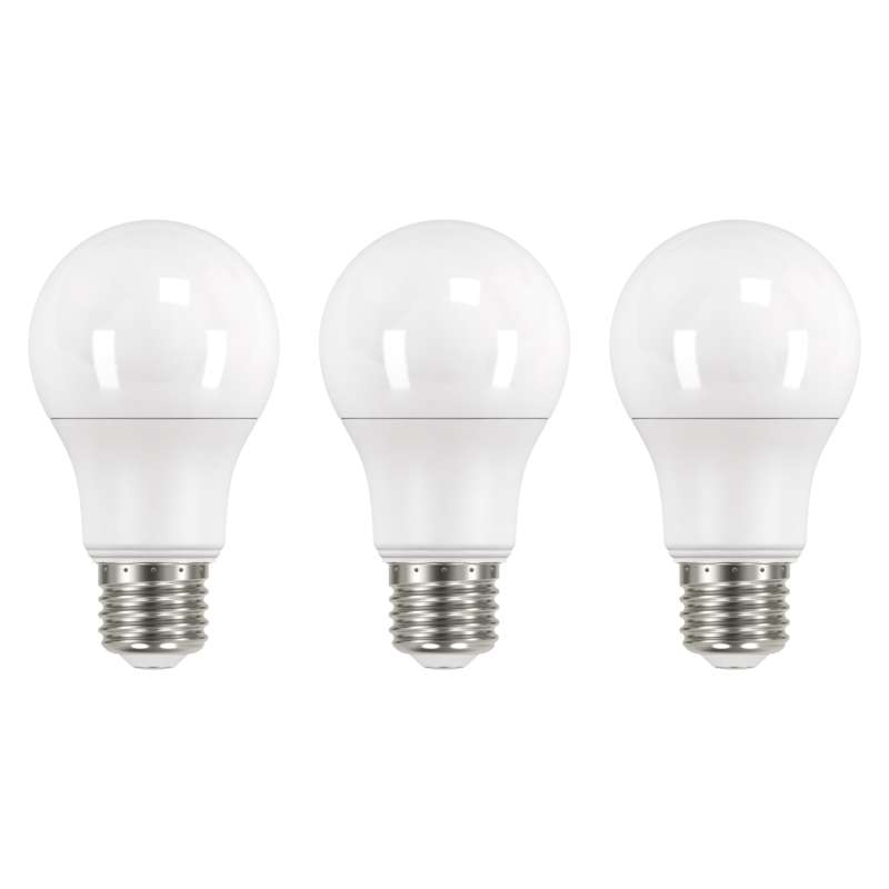 LED PIRN CLS A60 10.5W E27 NW 3PC