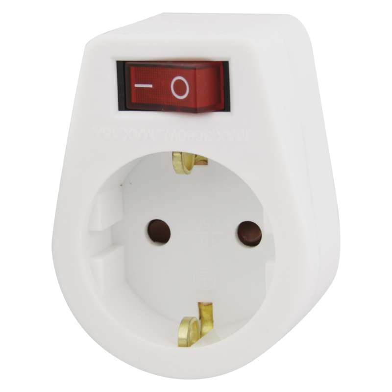 ADAPTOR WITCH SWITCH SCHUKO