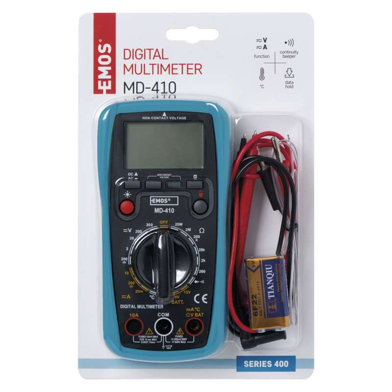DIGITAL MULTIMEETER MD-410