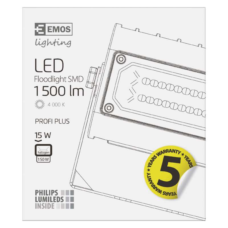 LED PROŽEKTOR PROFI PLUS 15W