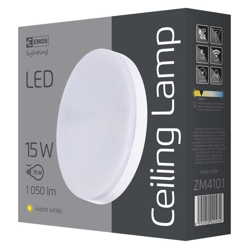 LED- LAEVALGUSTI C 15W IP44 WW W