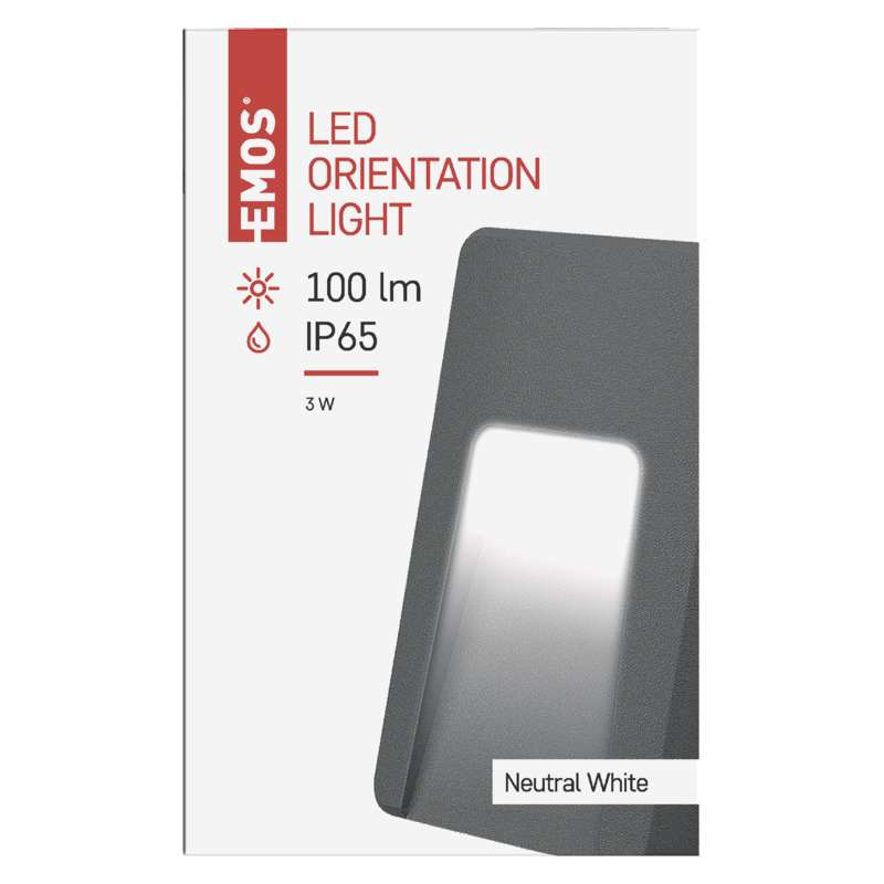 LED ORIENTATION LIGHT 3W NW IP65